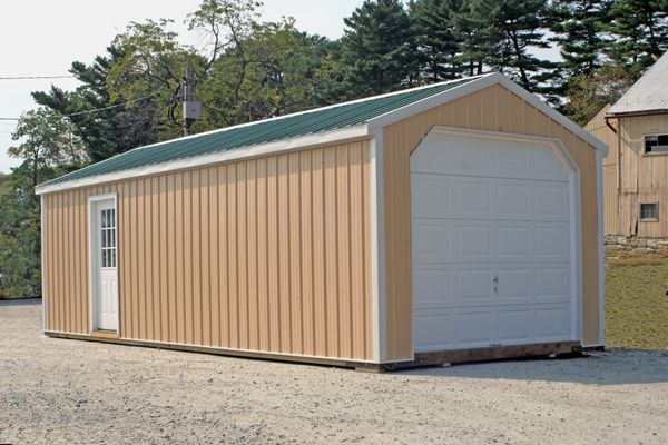 12' X 30' A-Frame Garage with 4x7 Entry Door