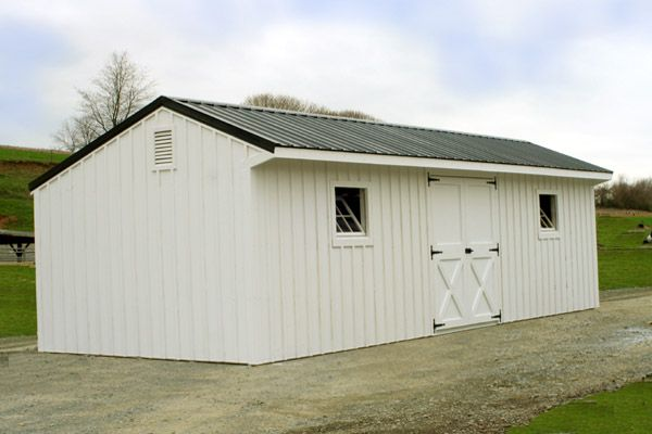 Our Amish built storage barns are supremely useful.