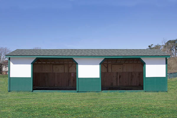Run-In sheds for equine and livestock, by Windy Hill Sheds, Lancaster PA